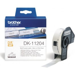 Etykiety Brother DK-11204,17mm x 54mm