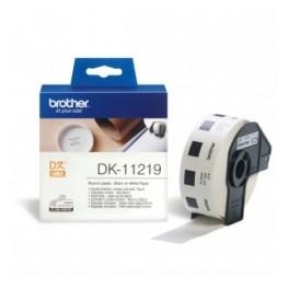 Etykiety Brother DK-11219, okrągłe, średnica 12mm