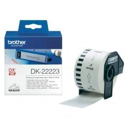Brother DK-22223, 50mm x 30,48m, Taśma papierowa ciągła