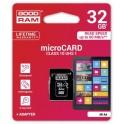Karta microSDHC 32GB GoodRam kl.10 UHS-I 60MB/s+ adapter