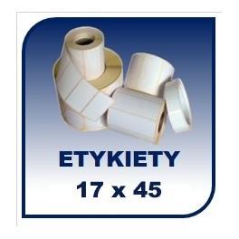 Etykiety na rolce 17x45, 45tys. etykiet