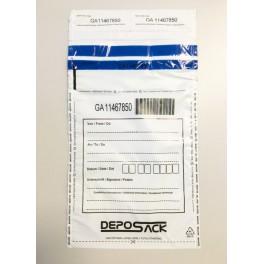 Koperty bezpieczne DEPOSACK M5 (K70) białe (op. 100szt.)