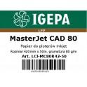 PREMIUM Papier do ploterów 420x50 MasterJet CAD 80 IGEPA