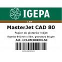 PREMIUM Papier do ploterów 841x50 MasterJet CAD 80 IGEPA