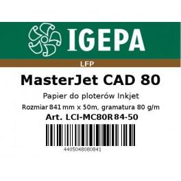 Papier do ploterów 841x50 MasterJet CAD 80 IGEPA PREMIUM