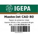 PREMIUM Papier do ploterów 297x50 MasterJet CAD 80 IGEPA