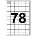 Etykiety 32x22 na arkuszu A4