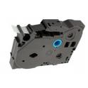Labelpeak AZe-221 zamiennik TZe-221 Brother Taśma 9mm, laminowana, czarny nadruk-białe tło, P-touch TZE221