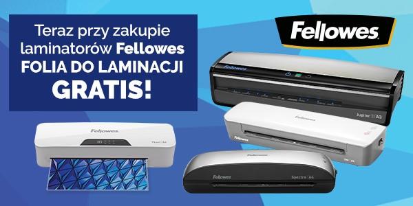 Folia gratis do laminatorów Fellowes